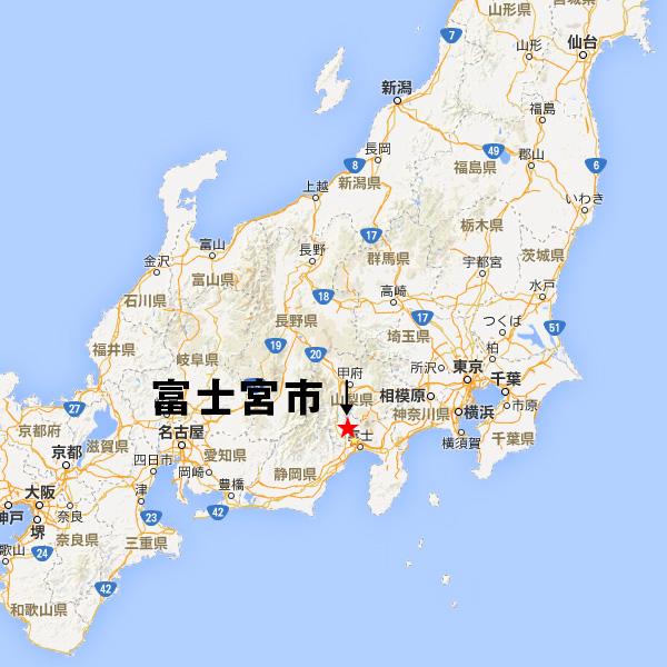 中部地方の上野